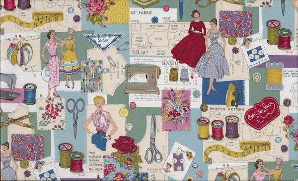 Retro geïnspireerd rokje, bloesje of jurkje leren naaien