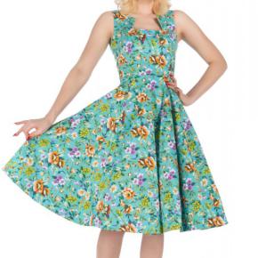 turquoise-bloemen-jurk-cutout