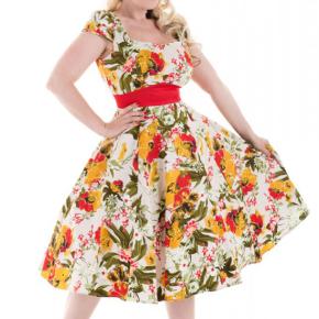 jurk-met-gele-groene-bloemen-cutout