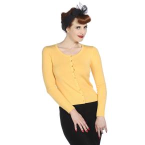 BNCBN300YELLOW-gele-cardigan