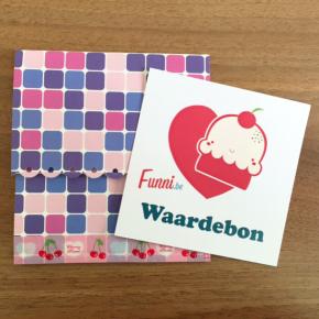 Funni-Waardebon-Cadeaubon