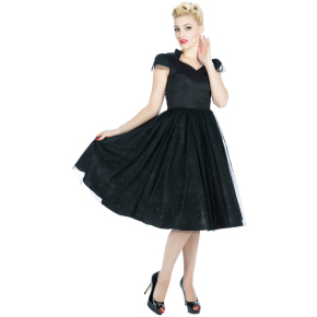 HR1316-satijnen-jurk-zwart-voor