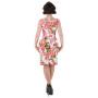 HR3132-aansluitende-pencil-jurk-roze-bloemenprint-rug