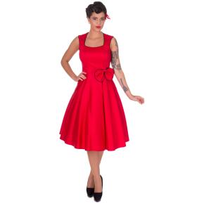 DDV503ReBla-rood-swing-kleedje-zwarte-bies-strik
