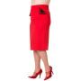 BNSBN241RED-pencil-rok-rood-zij