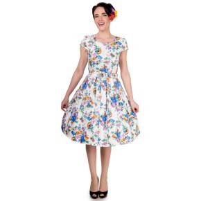 DDS901A-romantisch-wit-jurkje-blauwe-bloemen