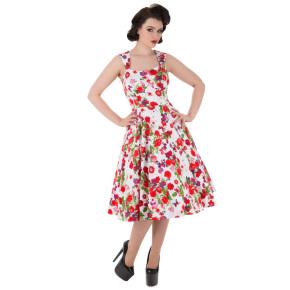 HR3004-exotische-jurk-rode-bloemenprint-voor