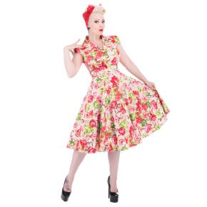 HR9650-roze-vintage-kleedje-bloemen-kraagje-voor