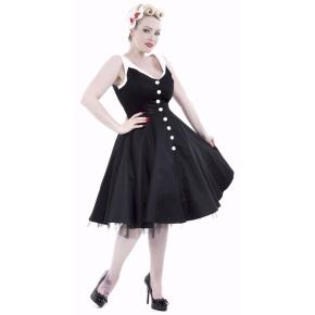 HR6877-HeartsandRoses-zwart-wit-jurk