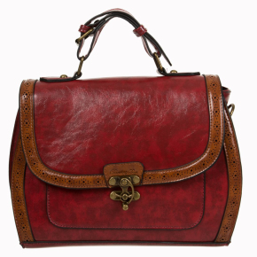bnbg7088red-rode-retro-handtas