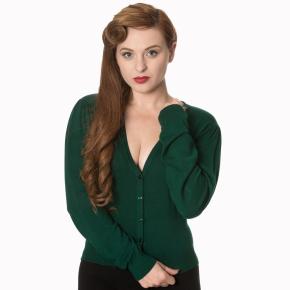 ca3115green-cardigan-groen-v-hals