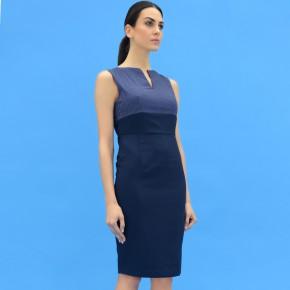 FV-PCBPDR733-Peggy-Colour-Block-Pencil-Dress-Navy-White-Navy-2