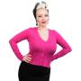HR0101FP-Fuchsia-Pink-Cardigan