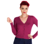 HR0101W-Wine-Cardigan