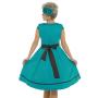 LB-Bethany-Teal-Swing-Dress-back