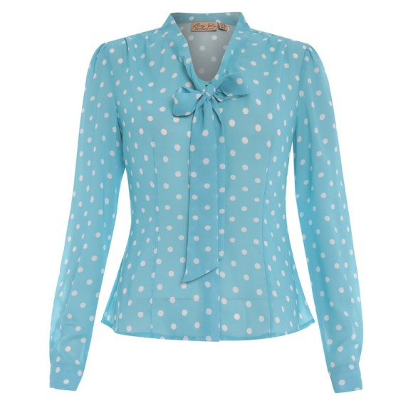 LB-Fallon-Turquoise-Polka-Dot-Blouse