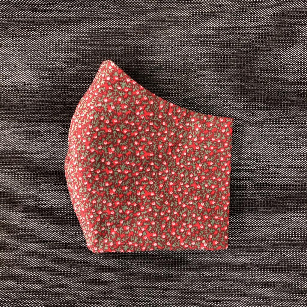 Kleine bloemetjes rood