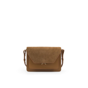 1801632 - Sticky Sis Club - Satchel - ton sur to - Cider brown - Front