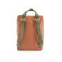 1801665 - Sticky Lemon - wanderer - backpack large - faded orange + seventies green + retro yell